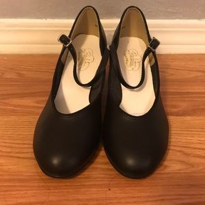 Barbettes Black Character Shoes